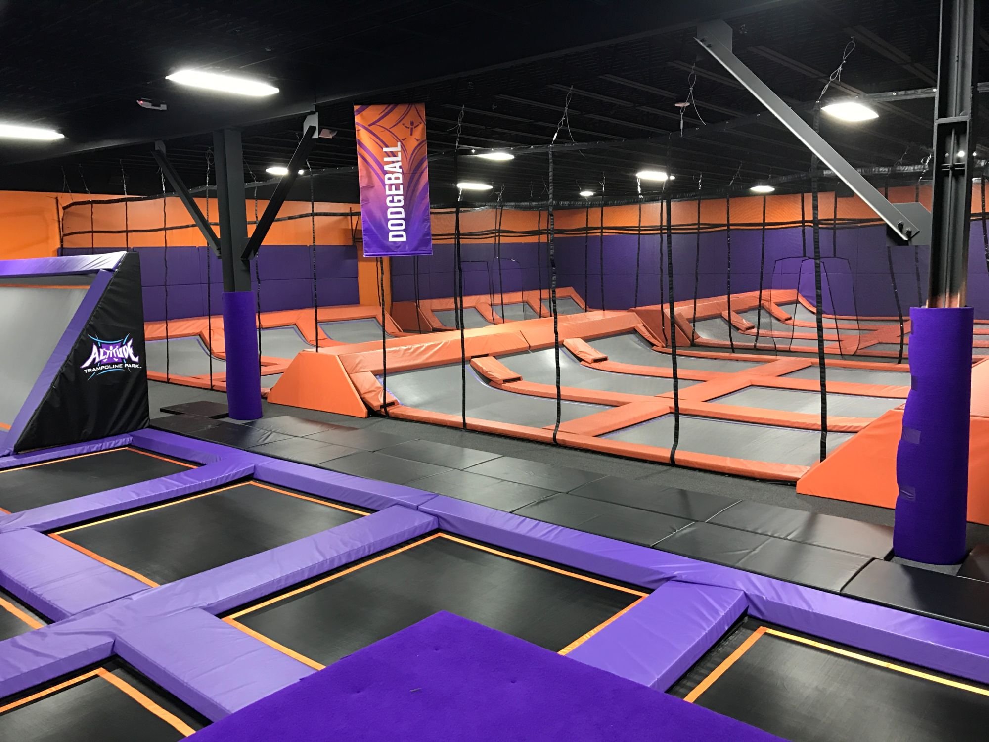 Trampoline Dodgeball in Laredo, Texas